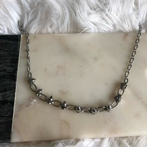 Lia Sophia Infinite Me Necklace Studded Chain